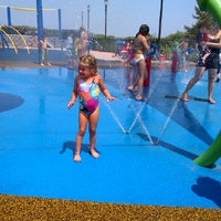 Photo taken at TOBAY Spray Park by Scott B. on 6/21/2012