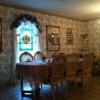 Photo taken at A Corner of England Tea Room by Laura J. on 7/16/2012