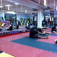 Photo taken at Muay Fit by Peng C. on 5/31/2012