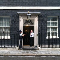 Photo taken at 10 Downing Street by Jon S. on 8/25/2011
