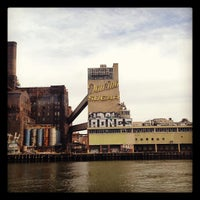 Photo taken at Domino Sugar Factory by Guillo .. on 2/19/2012
