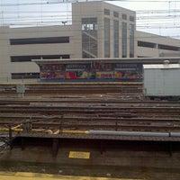 Photo taken at PATH - Harrison Station by eva g. on 7/24/2011