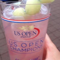 Photo taken at Arthur Ashe Stadium - USTA Billie Jean King National Tennis Center by Megan L. on 9/5/2012