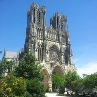 Photo taken at Our Lady of Reims by François C. on 7/24/2012