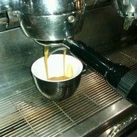 Photo taken at Coffee Lab - 1st Espresso Bar by Xrysoula S. on 9/7/2012