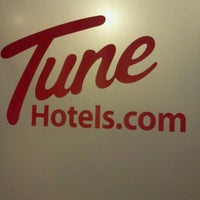 Photo taken at Tune Hotels by Maro O. on 10/2/2011