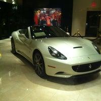 Photo taken at Ferrari Maserati Showroom and Dealership by Michael on 10/23/2011