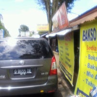 """Photo taken at Bakso & Mie Ayam """"Serasi"""" (Bandungan) by Arie Chrestian D. on 4/6/2012"""
