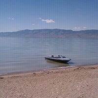 Photo taken at Bear Lake Beach by Zac C. on 8/29/2011