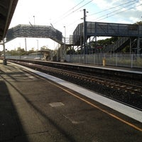Photo taken at Cannon Hill Railway Station by Golffy N. on 2/11/2012