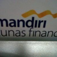 Photo taken at MANDIRI TUNAS FINANCE by risma s. on 1/9/2012