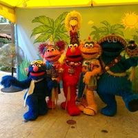 Photo taken at Sesame Street Safari Of Fun by Tiffany V. on 9/9/2012