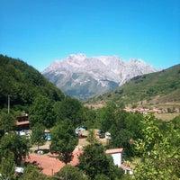 Foto tomada en Camping El Cares Picos de Europa por Elcarescamping C. el 8/7/2012