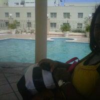 Photo taken at Harold's Pool by Natasha M. on 10/2/2011