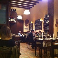 Photo taken at Osteria Brunello by Giuseppe C. on 4/30/2012