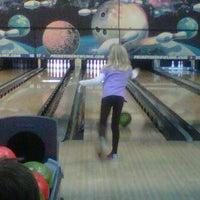Photo taken at Prime Time Bowling by Bradley T. on 1/2/2012