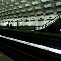 Photo taken at Judiciary Square Metro Station by Jerry on 1/17/2012