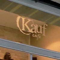 Photo taken at Kauf Café by Gabriel N. on 12/6/2011