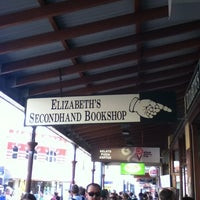Photo taken at Elizabeth's Secondhand Bookshop by Juliana N. on 4/8/2012