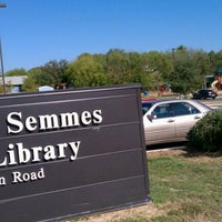 Photo taken at Julia Yates Semmes Branch Library by Serene L. on 10/23/2011