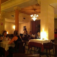 Photo taken at Restaurant La Lluna by César C. on 9/17/2011