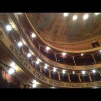 Photo taken at Teatro Storchi by Ali M. on 3/31/2012