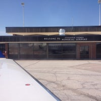 Photo taken at Houghton County Memorial Airport (CMX) by Jason M. on 4/21/2012