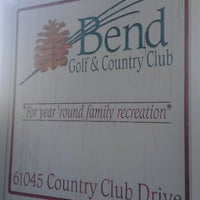 Photo taken at Bend Golf & Country Club by Fred B. on 7/14/2012