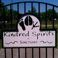 Photo taken at Kindred Spirits Sanctuary by Julie R. on 4/24/2012