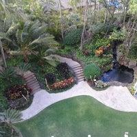 Photo taken at Hilton Waikiki Beach by Ashley A. on 6/20/2012