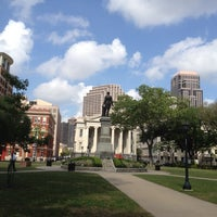 Photo taken at Lafayette Square by Jesse R. on 3/30/2012