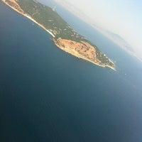 Photo taken at Sea of Marmara by Aylin B. on 8/6/2012