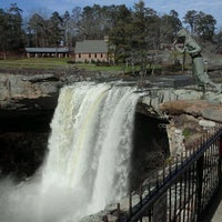 Photo taken at Noccalula Falls by Adam M. on 12/8/2011