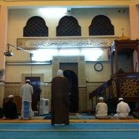 Photo taken at Masjid Saidina Umar Al-Khattab by Redza I. on 7/31/2012
