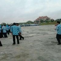 Photo taken at Lapangan Upacara Kantor Bupati by BEBEN M. on 9/19/2011