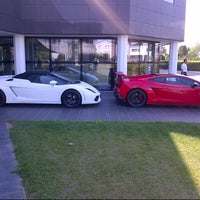 Photo taken at Automobili Lamborghini S.p.A. by Nuno F. on 7/13/2012