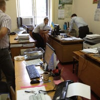Photo taken at Управление транспорта,связей и дорожного строительства облгосадменистрации. by Юрий Ш. on 6/11/2012
