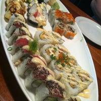 Photo taken at Samurai Blue Japanese Grill by Regina V. on 2/15/2012
