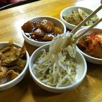 Photo taken at Myung-dong Soft Tofu House Korean Restaurant by Niki C. on 4/7/2011