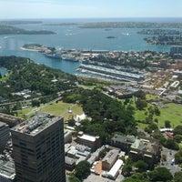 Photo taken at Sydney Tower Eye by Nicolas B. on 1/11/2012