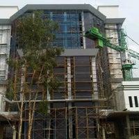 Photo taken at Gedung Rektorat Universitas Trunojoyo by Andi P. on 12/27/2011