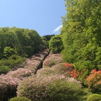 Photo taken at 冨士霊園 by Ps M. on 5/18/2012