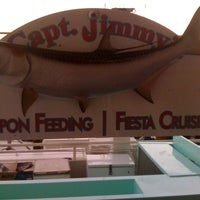 Photo taken at Capt. Jimmy's Fiesta Cruises Of Miami by Anderson M. on 4/22/2012