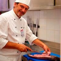 Photo taken at Ristorante GourmArt by Galleria d'Arte Moderna di Palermo on 1/17/2012