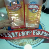 Photo taken at Quiosque Chopp Brahma by Ana Lu R. on 5/12/2012