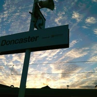 Photo taken at Doncaster Railway Station (DON) by Allister R. on 3/22/2011