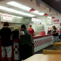 Photo taken at Five Guys by Joycena K. on 3/26/2012
