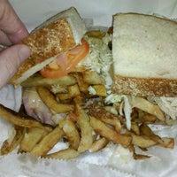Photo taken at Lucky's Sandwich Co. by Dan C. on 11/23/2011