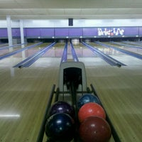 Photo taken at Pleasant Valley Bowl (Pleasant Valley Recreation Center) by Brittany K. on 9/22/2011
