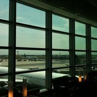 Photo taken at Lufthansa Senator Lounge C by Haim D. on 7/12/2011